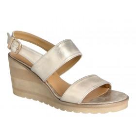 Sandały na koturnie, 7,5 cm