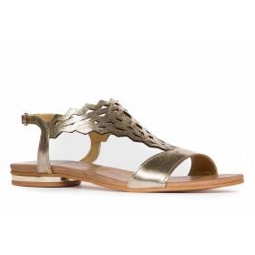 Ażurowe sandałki